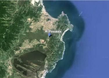 Pousada A Cabana - localização